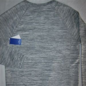 Pacific & Park Shirts - Spacedyed Sweatshirt Pullover Gray Chest Pocket S
